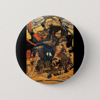 Pin's Samouraïs dans le combat, circa 1800's