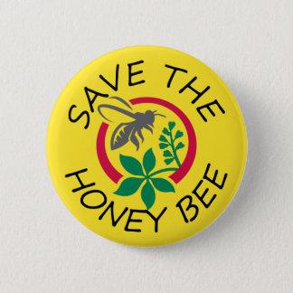 Pin's Sauvez le bouton d'abeille de miel