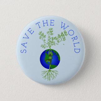 Pin's Sauvez le monde
