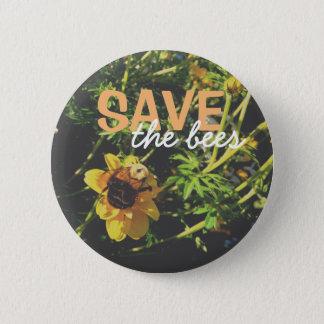 Pin's Sauvez les abeilles !