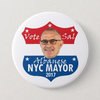 Pin's Sel Albanese de vote