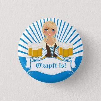Pin's Serveuse avec le bouton de Stein Oktoberfest