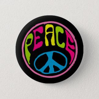 Pin's Signe de paix hippie