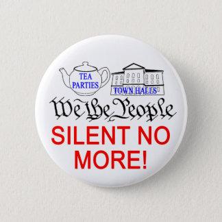 Pin's Silencieux pas plus ! bouton