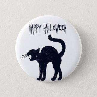 Pin's Silhouette de chat noir de Halloween