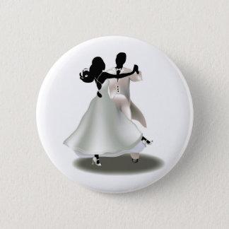 Pin's Silhouette d'un couple de danse