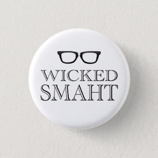 Pin's Smaht mauvais (Smart) Boston parlent l'humour