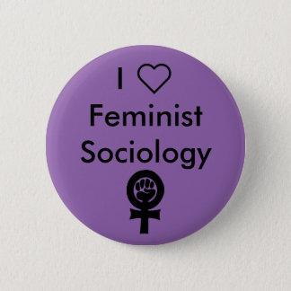 Pin's Sociologie de féministe du coeur I