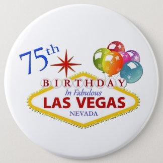 Pin's soixante-quinzième Anniversaire de Las Vegas