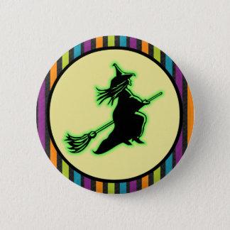 Pin's Sorcière de Halloween de vol