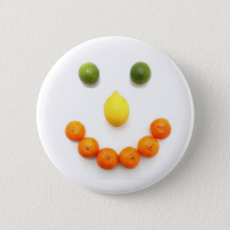 Pin's Sourire souriant d'agrumes