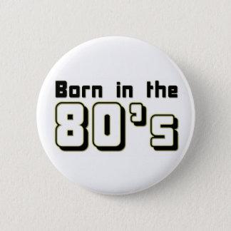 Pin's Soutenu pendant les années 80