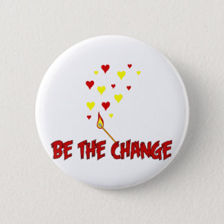 Pin's Soyez la flamme de changement