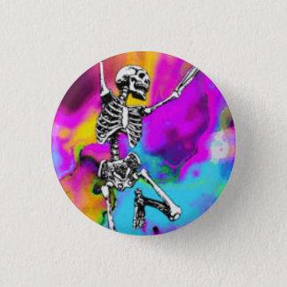 Pin's Squelette psychédélique