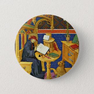 Pin's St Jerome par Meister Des Maréchal De Boucicaut (B