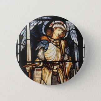 Pin's St Michael par Burne Jones, Arkhangel vintage