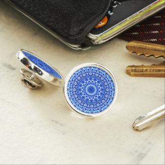 Pin's Style G403 de Mehndi de mandala de Pin de revers
