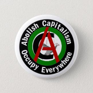 Pin's Supprimez le capitalisme occupent partout