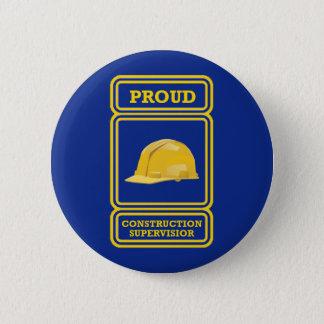 Pin's Surveillant de chantier de construction