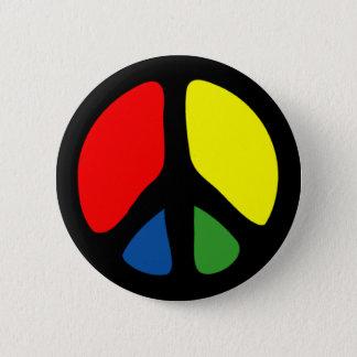 Pin's Symbole de paix super de hippie