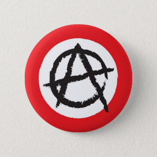 Pin's Symbole rouge, blanc et noir de signe de drapeau