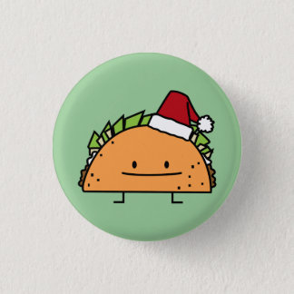 Pin's Taco portant le Salsa de viande de coquille de