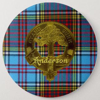 Pin's Tartan d'Anderson et bouton de motif