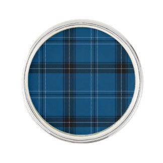 Pin's Tartan de bleu de Ramsay d'écossais