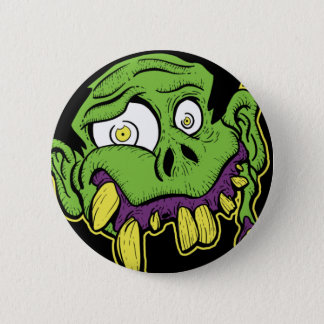 Pin's Tête verte de zombi
