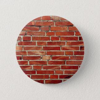 Pin's Texture rouge de mur de briques