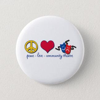 Pin's Théâtre de la Communauté d'amour de paix