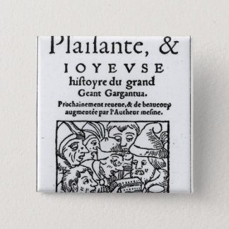 """Pin's Titlepage de """"Gargantua"""" par Francois Rabelais"""