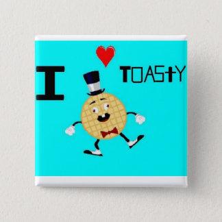 Pin's Toasty l'homme de gaufre