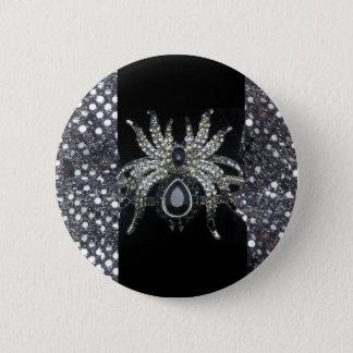 """Pin's Touche """"IMPRESSION"""" de bijoux d'araignée"""