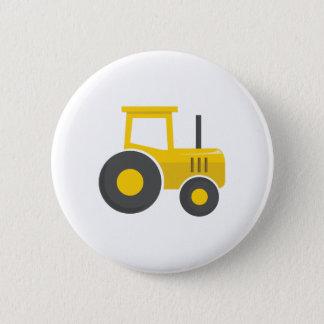 Pin's Tracteur jaune