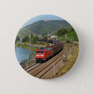 Pin's Train de marchandises dans les Lorch au Rhin