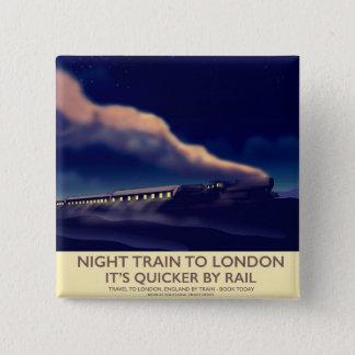 Pin's Train de nuit vers Londres