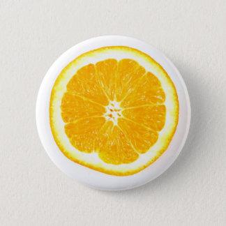Pin's Tranche orange - insigne de Pin de bouton de fruit