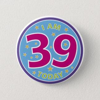 Pin's trente-neuvième Insigne d'anniversaire