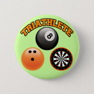 PIN'S TRIATHLETE - DARDS DE ROULEMENT DE BILLARDS