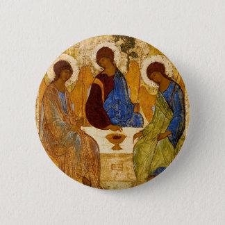 Pin's Trinité de Rublev au Tableau