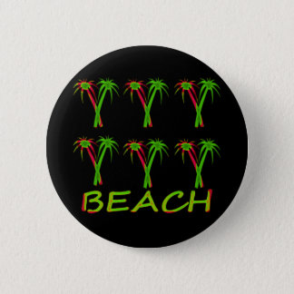Pin's trois palmiers colorés