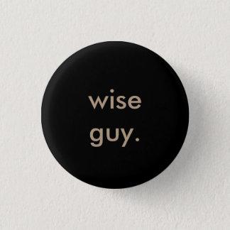 Pin's type sage. bouton