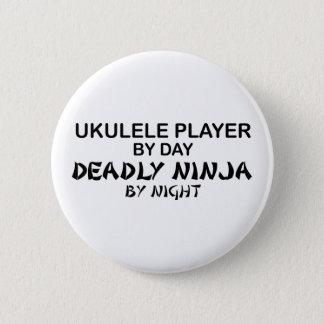 Pin's Ukulélé Ninja mortel par nuit