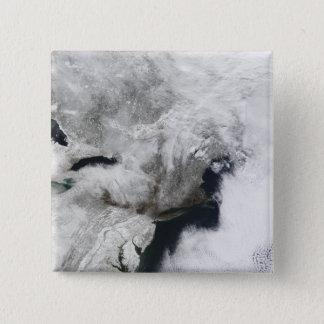 Pin's Une tempête grave d'hiver