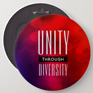 Pin's Unité élégante par la diversité