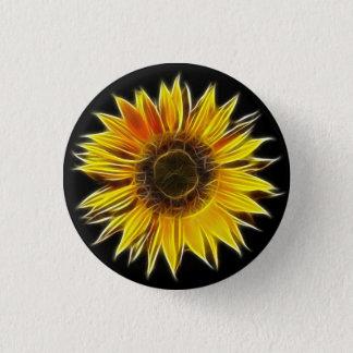 Pin's Usine jaune de fleur de Sun de tournesol