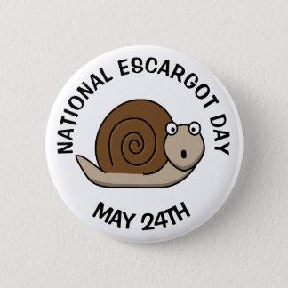 Pin's Vacances drôles de nourriture Escargot jour du 24