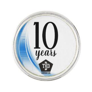 Pin's Vague bleue récompense d'anniversaire des employés