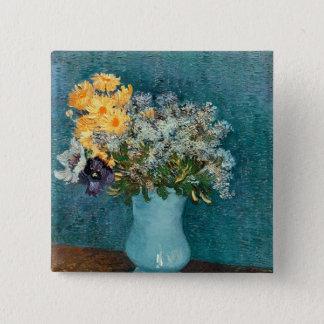 Pin's Vase à Vincent van Gogh | de fleurs, 1887